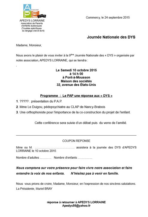 Capture journée Dys 2015 invit